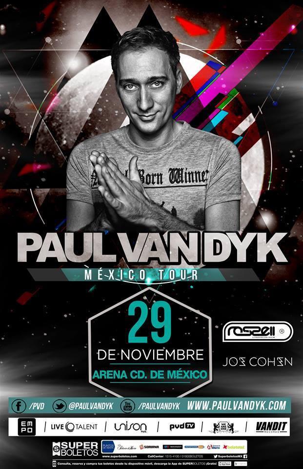 Paul Van Dyk en la Arena Ciudad de México