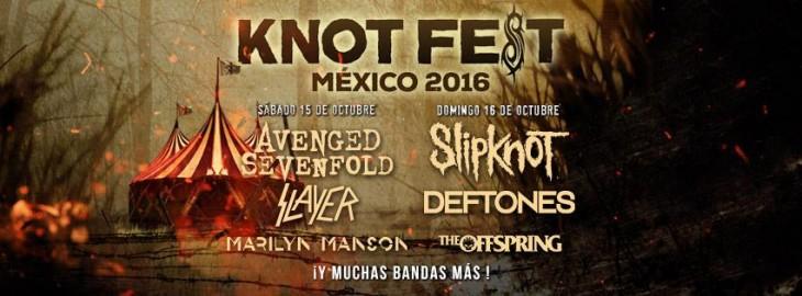 Knotfest 2016 – 15 y 16 de Octubre