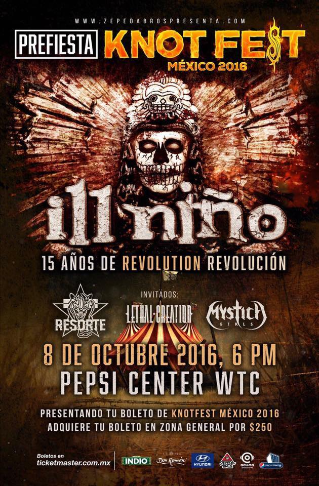 Ill Niño - Prefiesta Knotfest