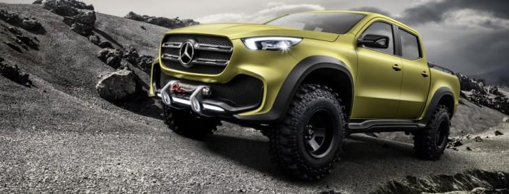 Mercedes-Benz Vans presenta pickups: Powerful Adventurer y Stylish Explorer.