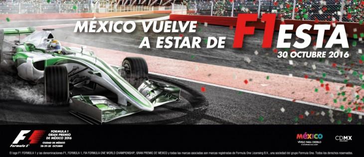 El Gran Premio de México F1 generará una derrama económica de 1,440 mdp
