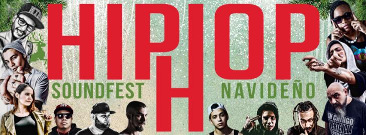 Hip Hop Sound Fest Navideño en Ecatepec.