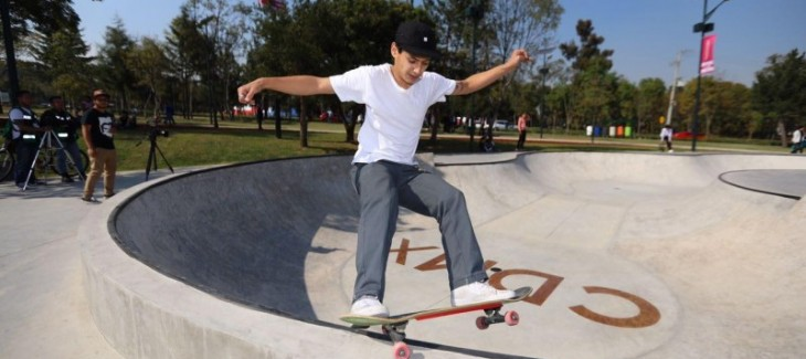 Skatepark en el Bosque de Chapultepec – CDMX