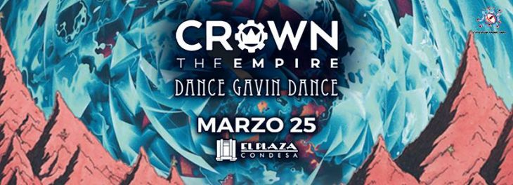Crown the Empire regresa a Mexico junto a Dance Gavin Dance
