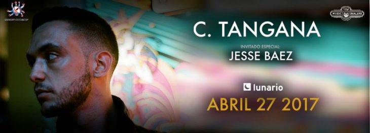 Rap con C. Tangana en la CDMX.