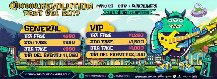 Revolution Fest 2017 entra en acción.