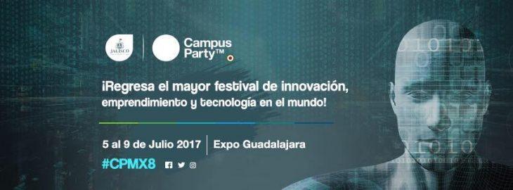 Campus Party #CPMX8 recibirá 25 mil asistentes en Jalisco