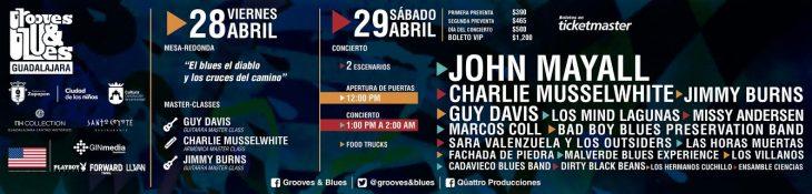 1er Festival Internacional de Blues y música afroamericana en México.