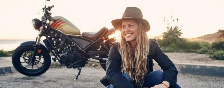 Presentan motocicleta Honda Rebel + Aviator Nation en el SXSW