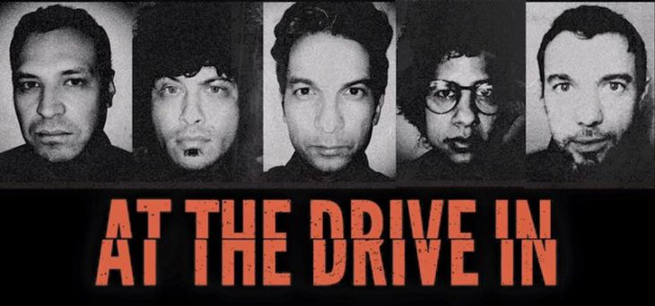 At The Drive In en el Pepsi Center WTC, CDMX.