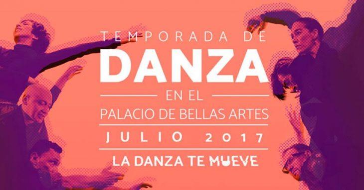 Temporada de Danza 2017 enBellas Artes.