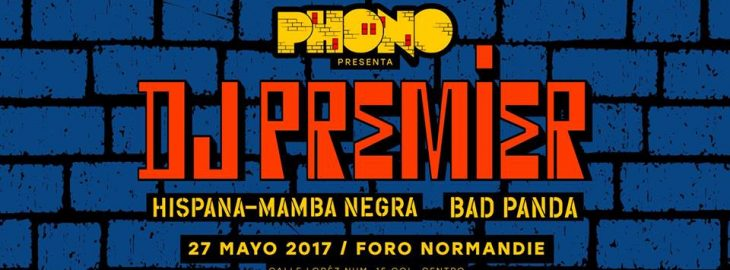 Dj Premier en México. El mejor productor de la historia del Hip Hop.