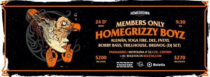 Rimas y Flow en Pasagüero con Homegrizzi Boyz