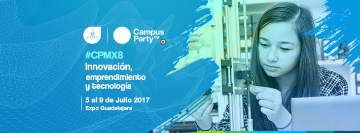 Estamos a unos días de iniciar Campus Party México #CPMX8