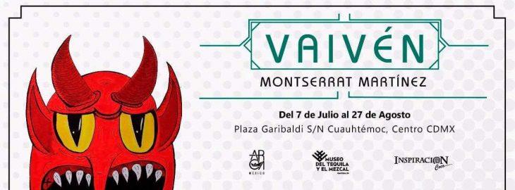 La artista plástica Montserrat Martínez presentará Vaivén, su primera exhibición, en el Museo del Tequila Y El Mezcal