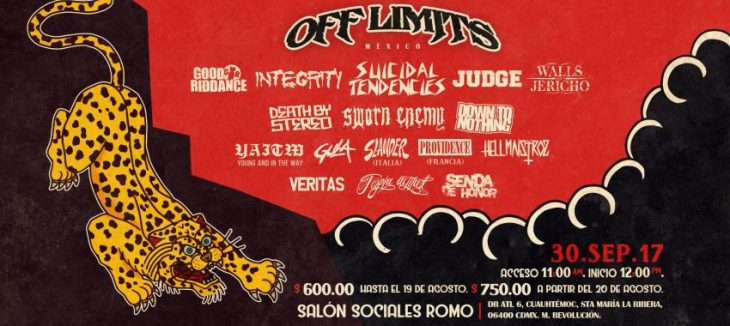 Segunda Edición del Off Limits Mexico