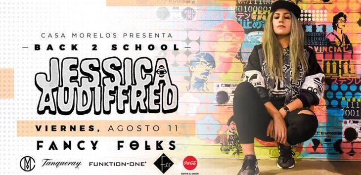 Jessica Audiffred se presentará en Monterrey