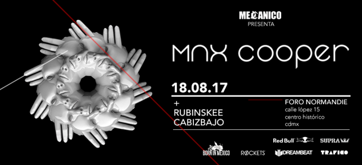 Max Cooper viene a México!