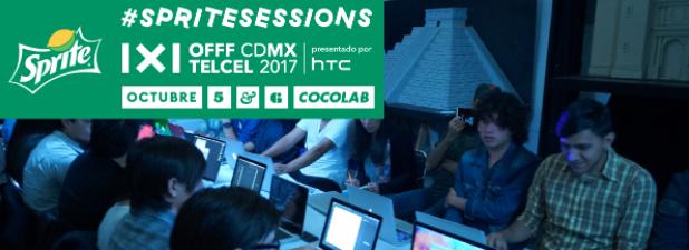 #OFFFCDMX presenta las #SpriteSessions: Talleres, Q&A, asesorías y más…