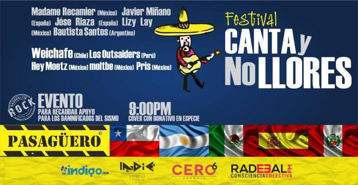"""Festival """"Canta y no llores"""", inspirando y curando el alma a través de la música"""