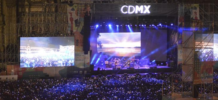 Caifanes en el Zócalo de la CDMX por la Semana de las Juventudes
