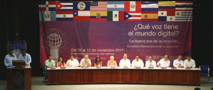 Con éxito se celebró el 4to Congreso Hispanoamericano de Locución 2017.