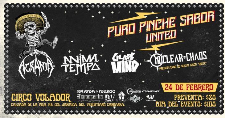 Festival con Puro Pinche Sabor United.