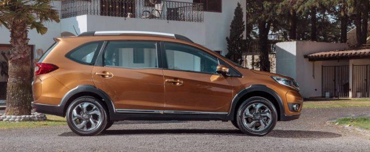 Honda presentó la nueva SUV BR-V para 7 pasajeros