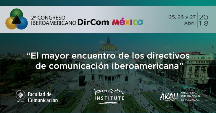 México sede del 2° Congreso Iberoamericano DirCom